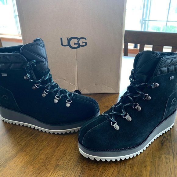 UGG Shoes   Ugg Birch Laceup Black